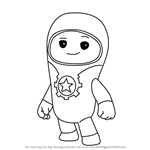 How to Draw Lars from Go Jetters