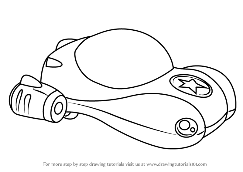 Learn How to Draw Vroomster from