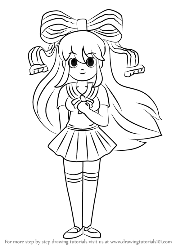 Learn How To Draw Giffany From Gravity Falls Gravity