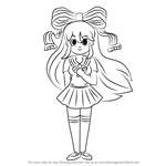 How to Draw GIFfany from Gravity Falls