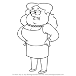 How to Draw Sassica from Gravity Falls