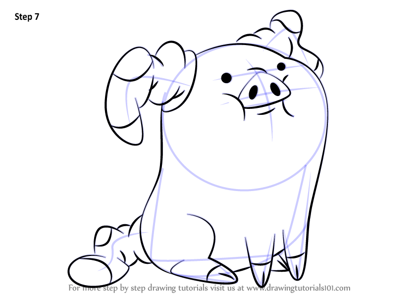 Learn How to Draw Waddles from