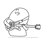 How to Draw Jammy from Grojband