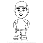 How to Draw Manny from Handy Manny