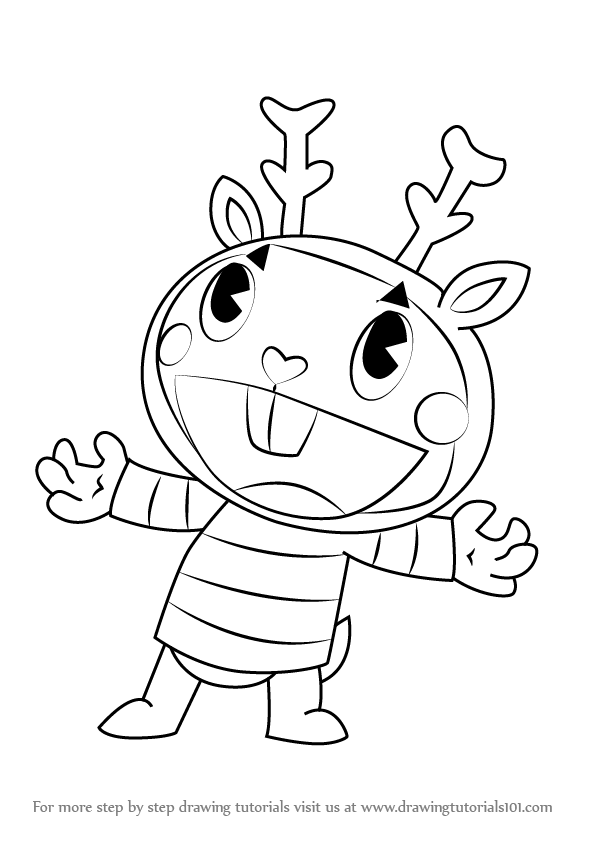 happy tree friends coloring pages - photo#25