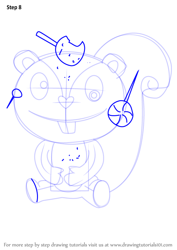 how to draw friends step by step