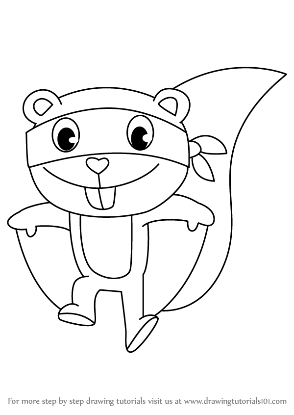 happy tree friends coloring pages - photo#45