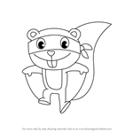 How to Draw Splendid from Happy Tree Friends