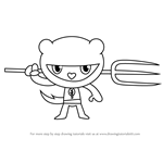 How to Draw Tree Ninjas from Happy Tree Friends
