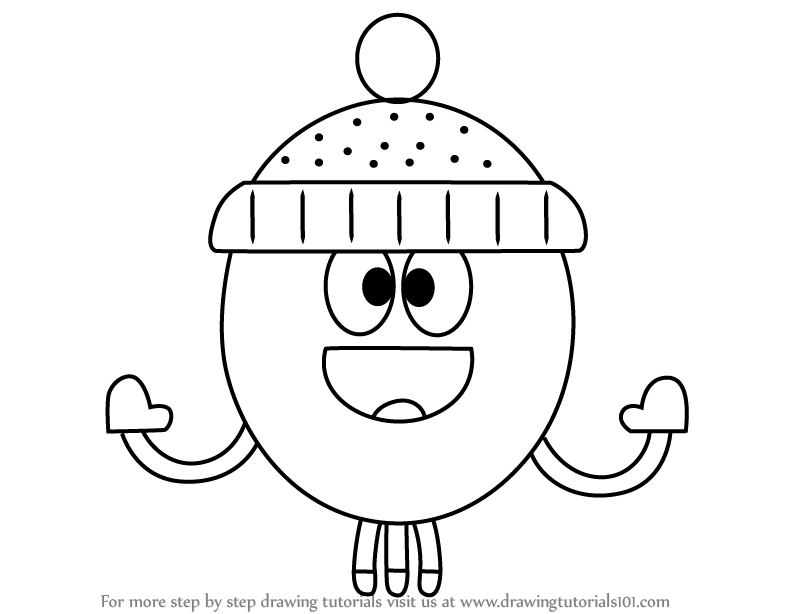 Learn How To Draw Betty From Hey Duggee Hey Duggee Step