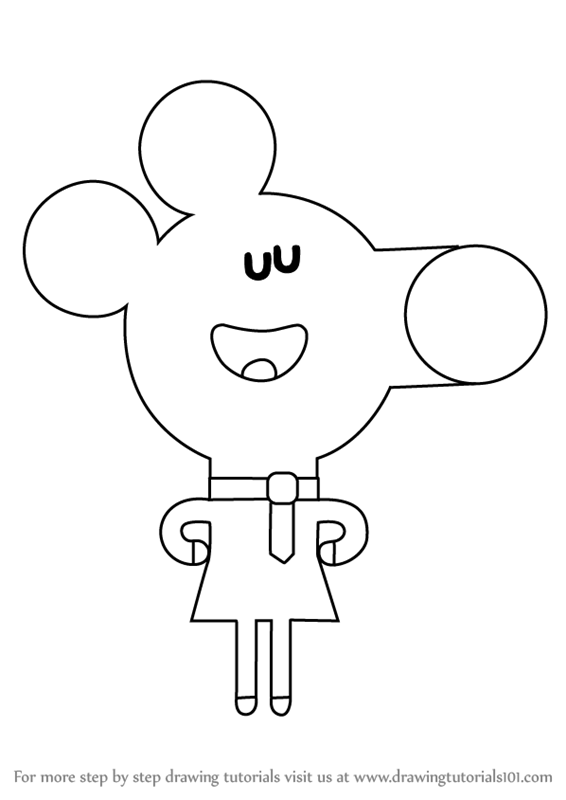 Hey Duggee Norrie Coloring Pages