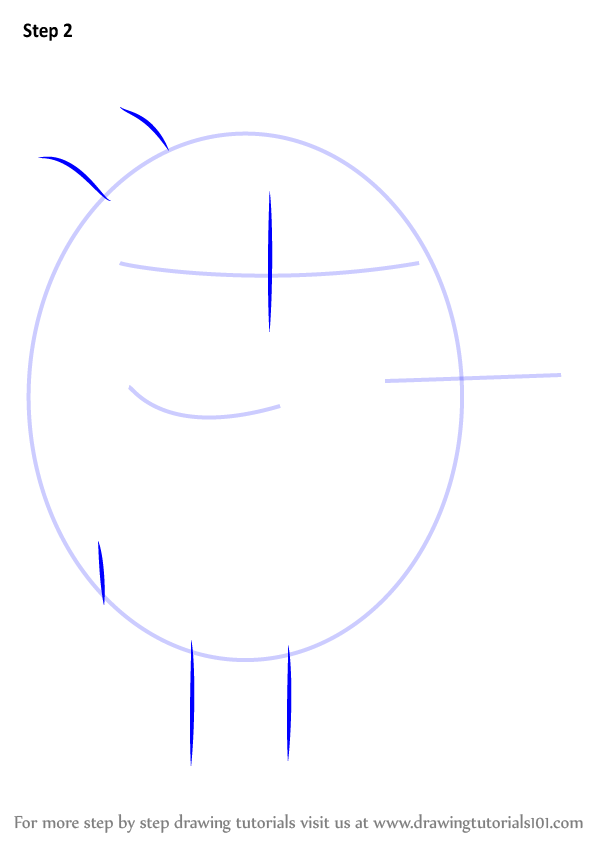 Learn How To Draw Roly From Hey Duggee Hey Duggee Step