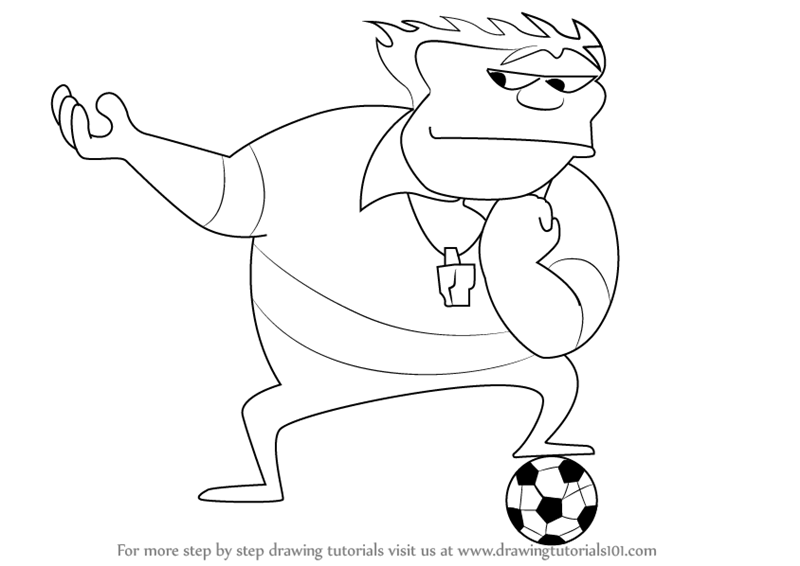 Learn How to Draw Coach John McGuirk from Home Movies (Home Movies ...
