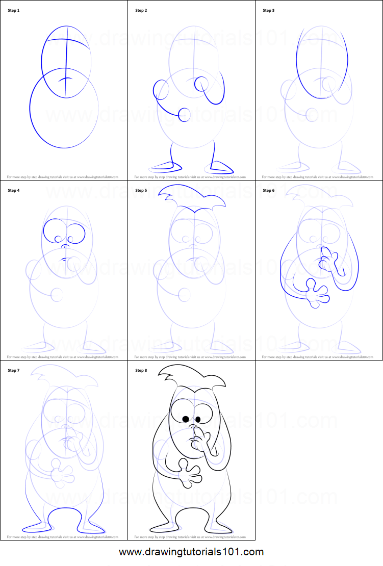 How To Draw Jason Penopolis From Home Movies