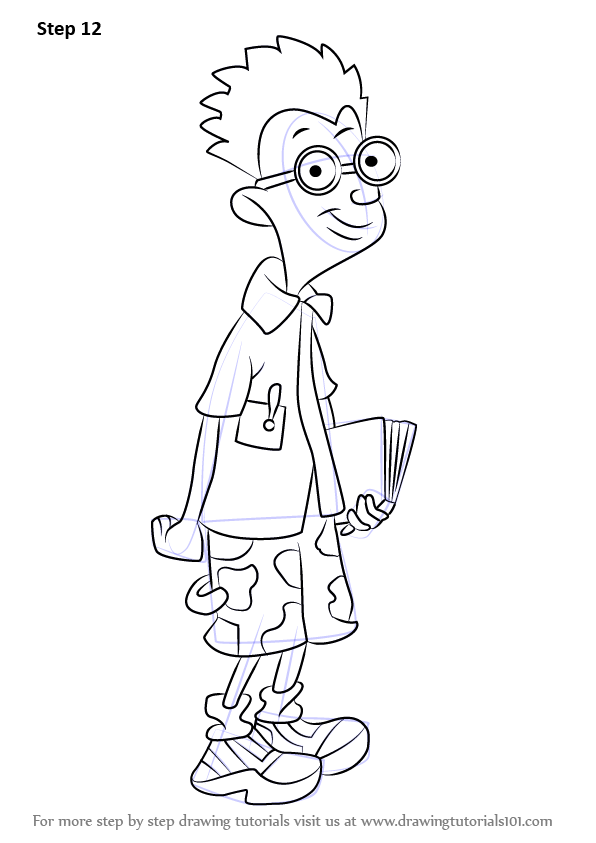 learn how to draw brainy brian from horrid henry  horrid