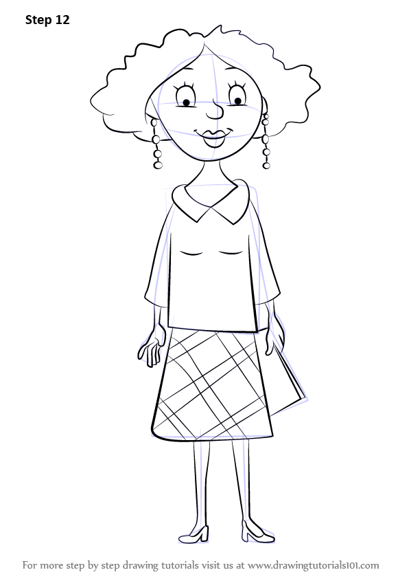Learn How To Draw Miss Lovely From Horrid Henry Horrid