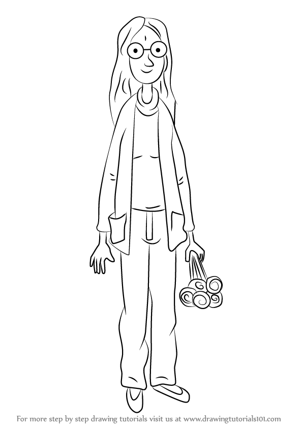 How To Draw Mum From Horrid Henry