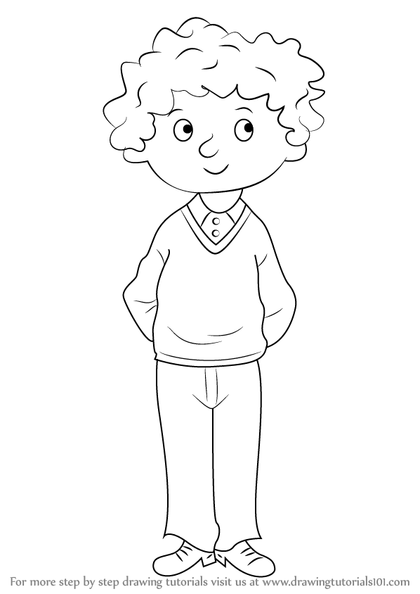 How To Draw Perfect Peter From Horrid Henry