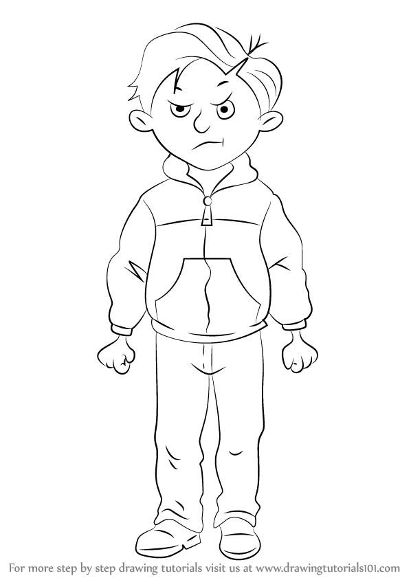 How To Draw Rude Ralph From Horrid Henry