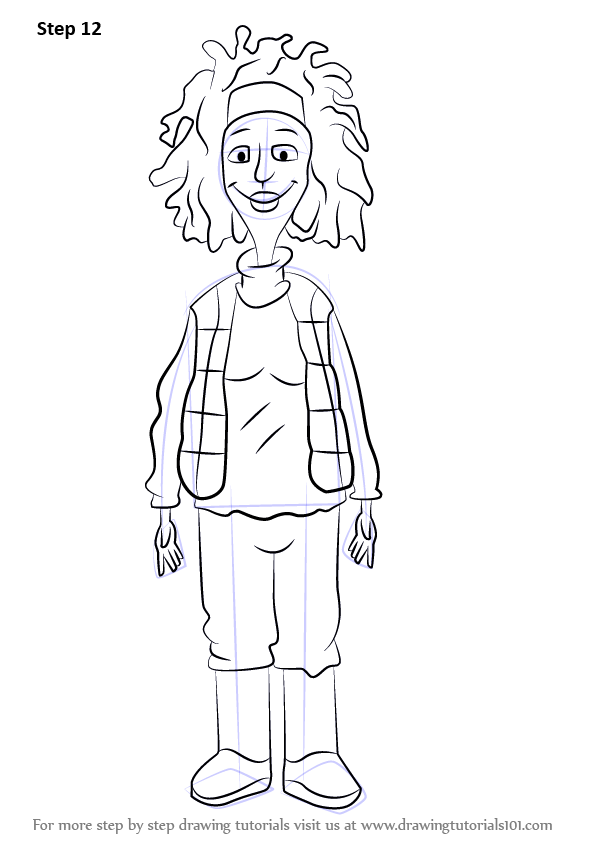 Learn How to Draw Windy Wendy from Horrid Henry Horrid