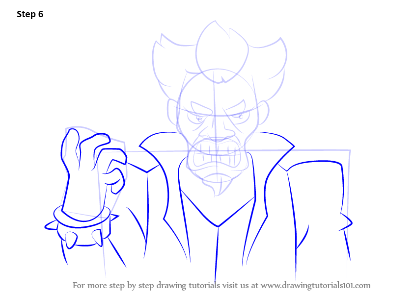 Learn How to Draw Doctor Claw from Inspector Gadget ...