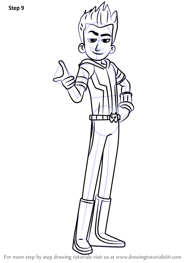 Learn How To Draw Talon From Inspector Gadget Inspector