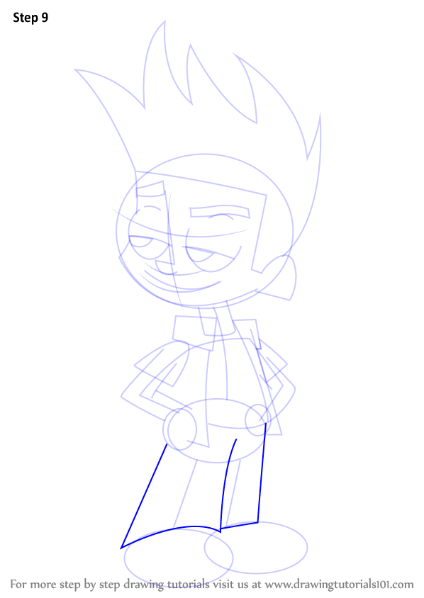 Learn How to Draw Johnny from Johnny Test (Johnny Test ...