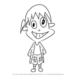 How to Draw June from KaBlam!