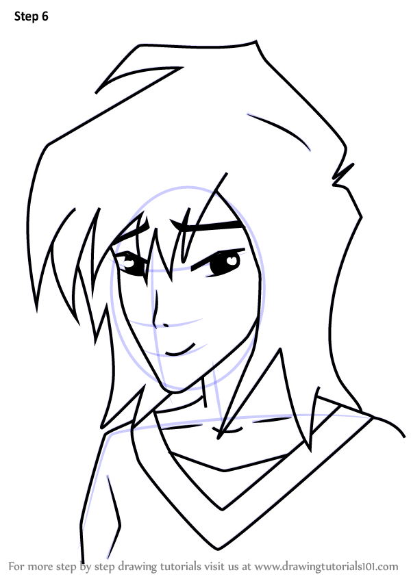 Learn How To Draw Mitsuki From Kappa Mikey Kappa Mikey