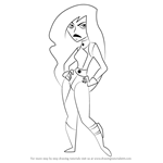 How to Draw Shego from Kim Possible