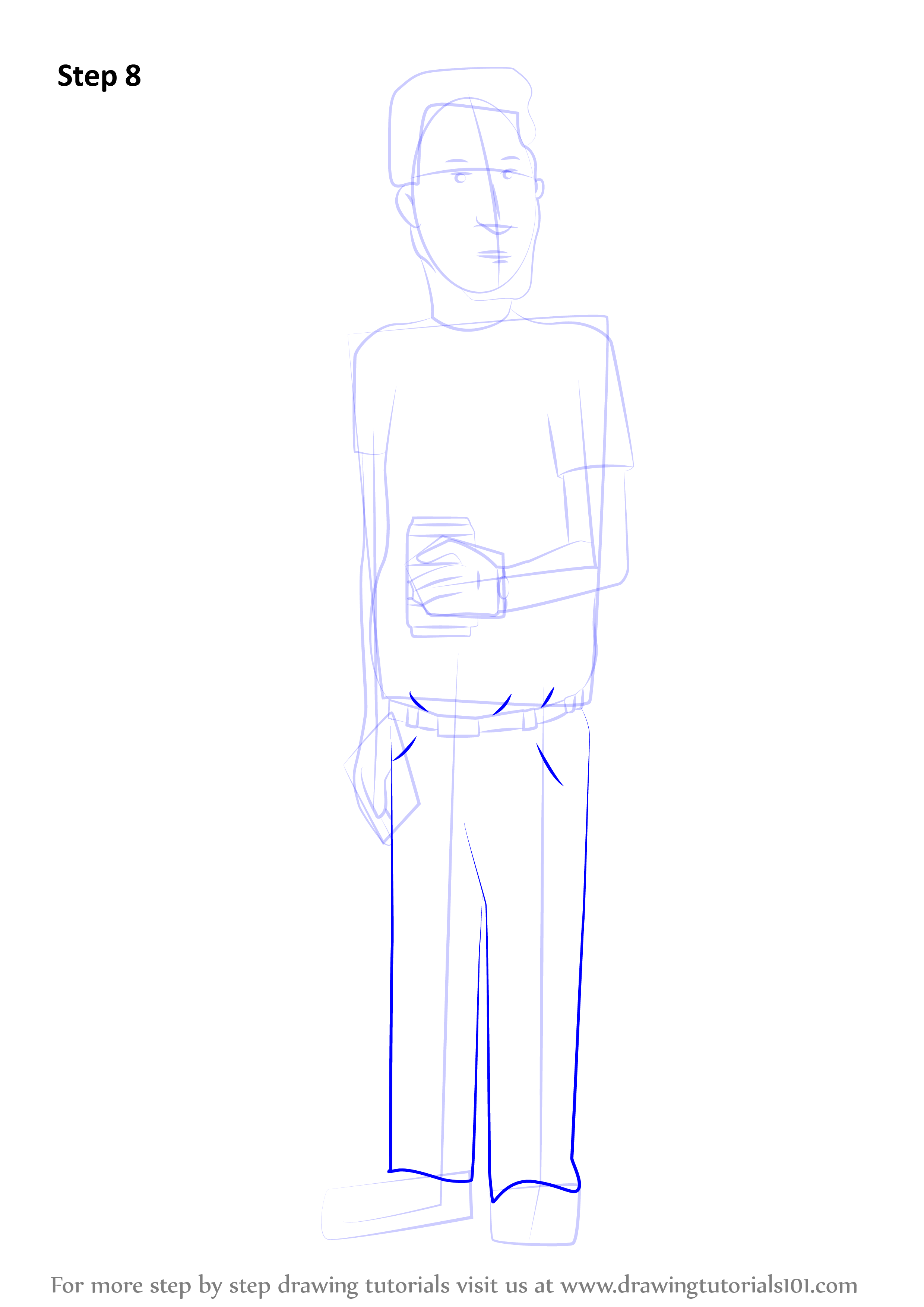 Learn How To Draw Boomhauer From King Of The Hill King Of