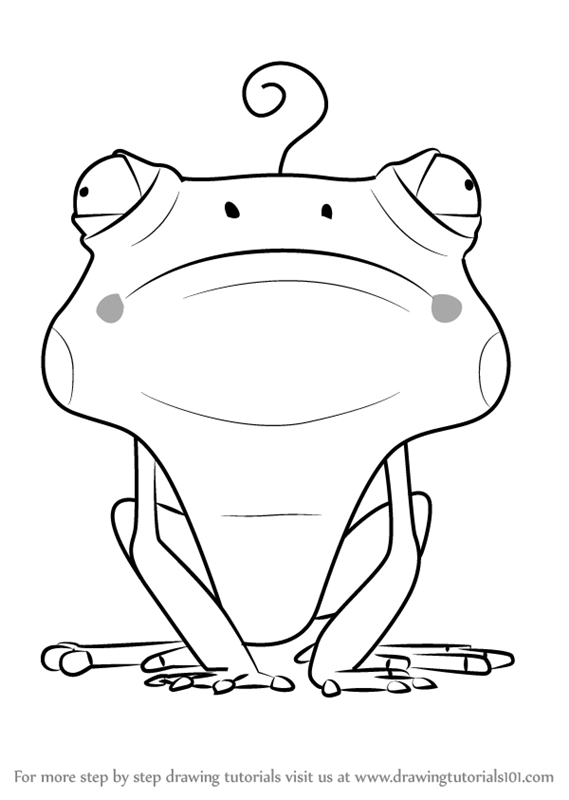 Learn How to Draw Frog from Larva (Larva) Step by Step ...