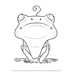 How to Draw Frog from Larva