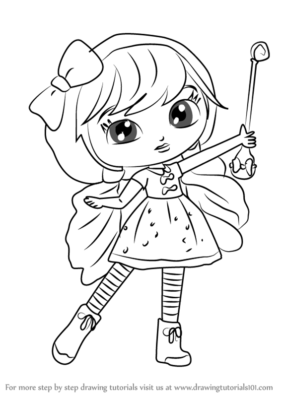 Learn How To Draw Lavender From Little Charmers Little