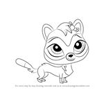 How to Draw Jebbie from Littlest Pet Shop