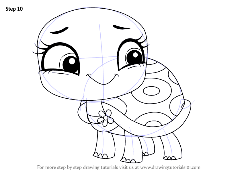 Learn How To Draw Olive Shellstein From Littlest Pet Shop