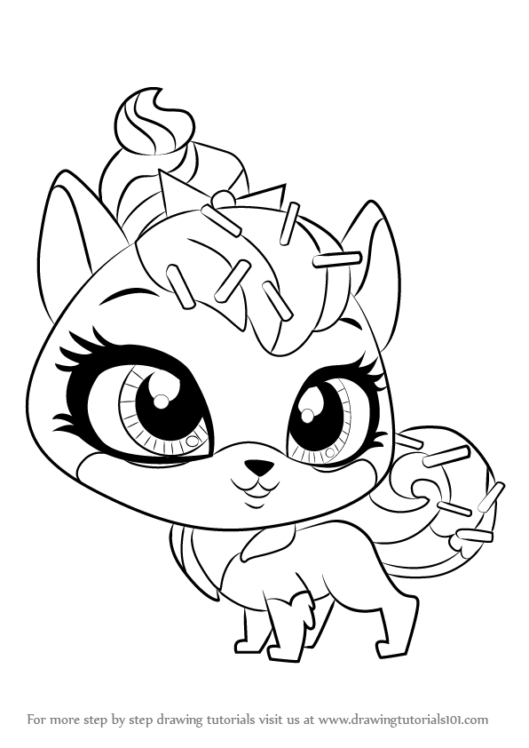 blue and sprinkle coloring pages | Learn How to Draw Sugar Sprinkles from Littlest Pet Shop ...