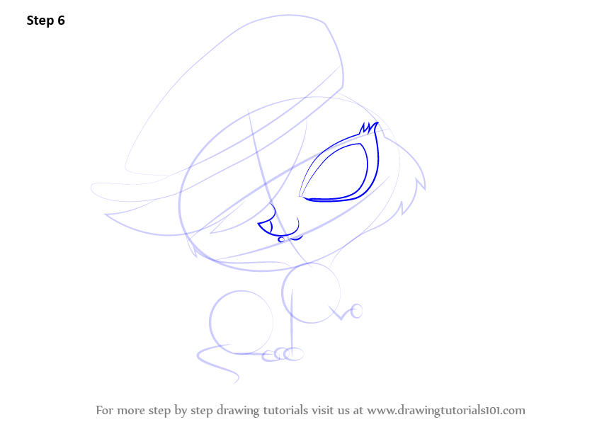 Learn How to Draw Zoe Trent from Littlest Pet Shop ...