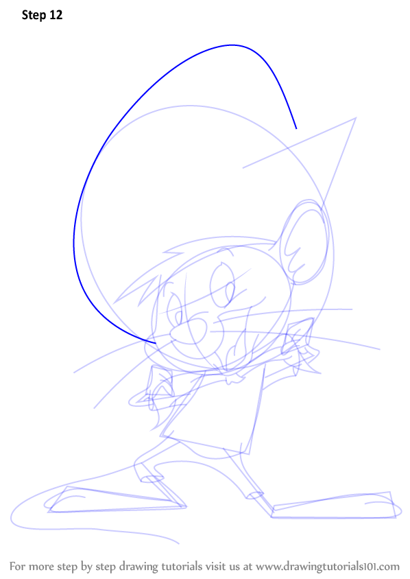 Step By Step How To Draw Speedy Gonzales From Looney Tunes