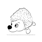 How to Draw Hedgehog from Masha and the Bear