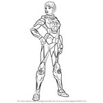 How to Draw Katherine Ryan from Max Steel