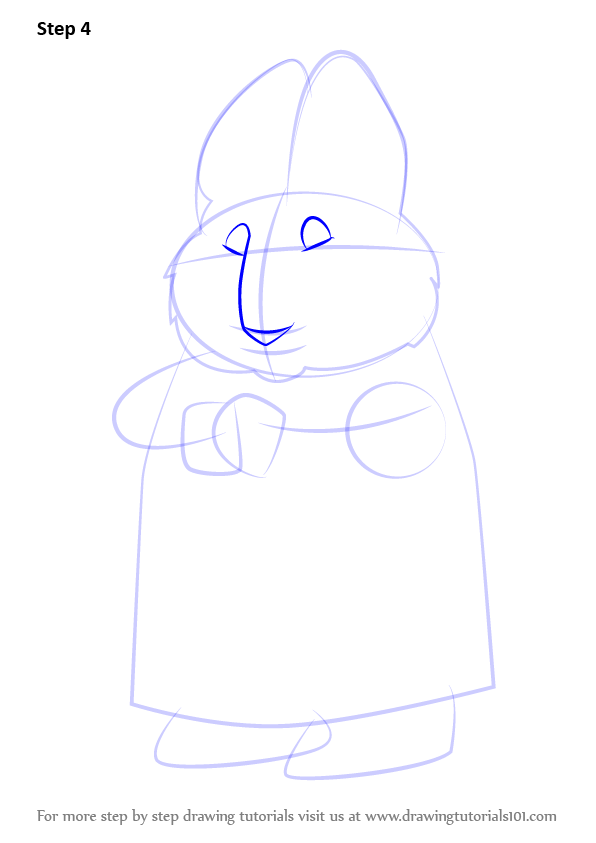 Learn How To Draw Grandma From Max And Ruby Max And Ruby