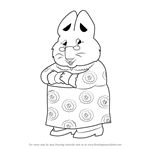 How to Draw Grandma from Max and Ruby