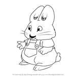 How to Draw Morris from Max and Ruby