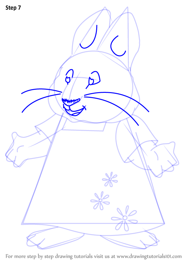 Learn How To Draw Ruby From Max And Ruby Max And Ruby