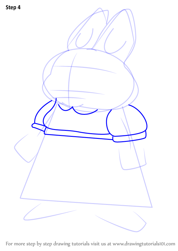 Learn How To Draw Valerie From Max And Ruby Max And Ruby