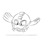 How to Draw Beta from Mega Man