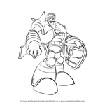 How to Draw Duo from Mega Man