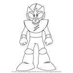 How to Draw Elec Man from Mega Man