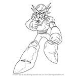 How to Draw Mercury from Mega Man